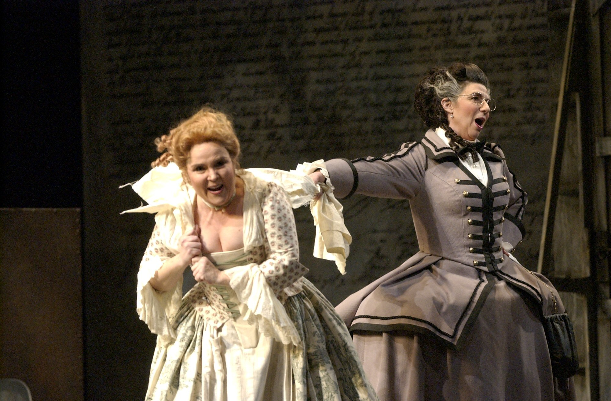 As Marcellina (with Korliss Uecker), le nozze di Figaro